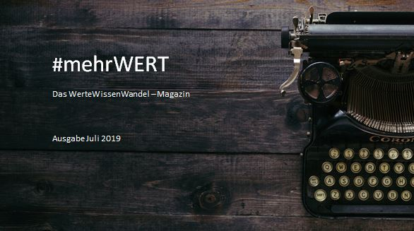 #mehrWERT | Juli-2019