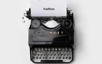 #mehrWERT   Tradition