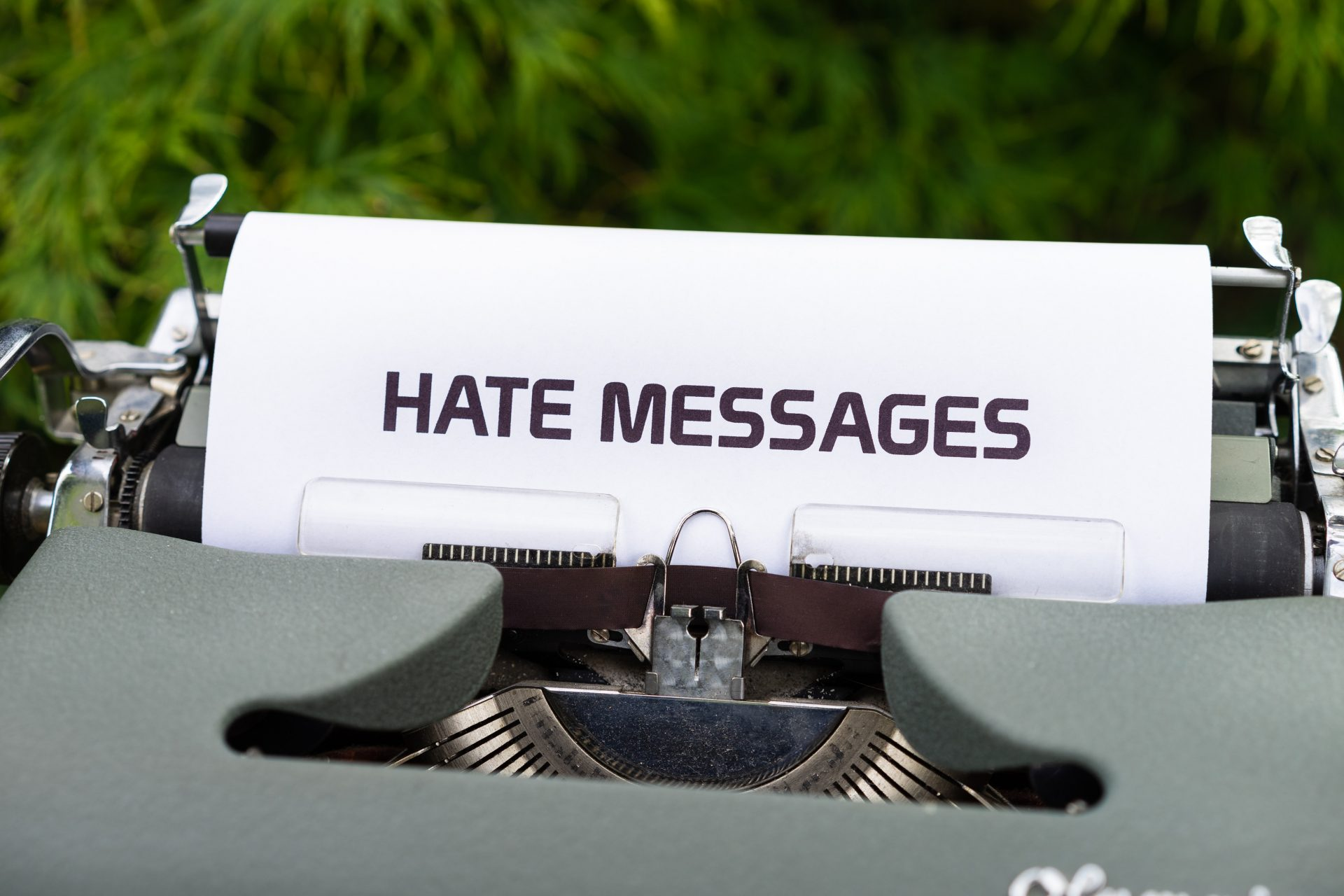 Hate Messages