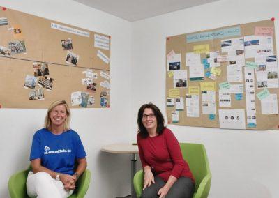 Kirsten Korte und Anja Lothschütz im Gespräch